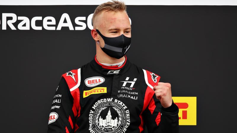 Nikita Mezapin (Rusia) promosi dari F2 ke F1 2021. (Foto: f1)