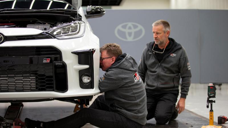 Toyota GR Yaris siap diturunkan untuk Reli Australia 2021