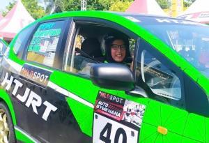 AS Dewi, peslalom wanita dari HTJRT Yogyakarta menilai persaingan kian ketat pasca vakumnya Alinka Hardianti