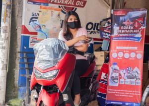 Undian Sobek Berhadiah dari Federal Oil, hadiahnya lumayan loh