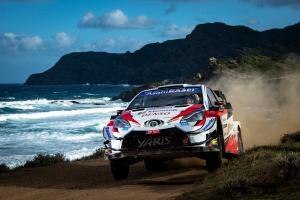 Elfyn Evans (Inggris/Toyota) menyongsong gelar juara dunia WRC 2020 di bumi Italia. (Foto: redbullcontentpool))