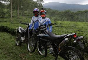Wawan Tembong dan Akbar Taufan berikan coaching clinic WR 155 R di Batang, Jawa Tengah
