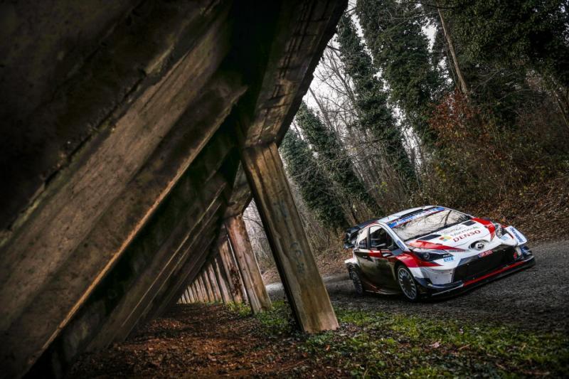 Sebastian Ogier (Prancis/Toyota), sementara perbesar peluang meraih gelar ke-7 WRC. (Foto: fia.com)