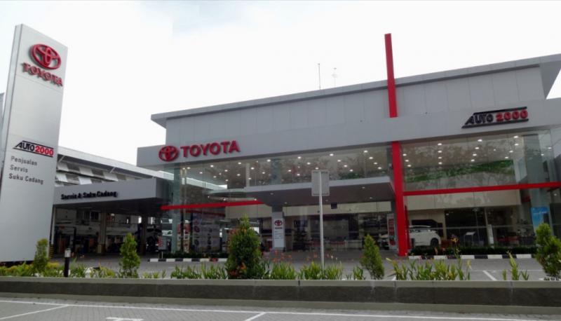 Dealer dan bengkel Auto2000 siap melayani pelanggan setiap pemilik mobil Toyota, AutoFamily