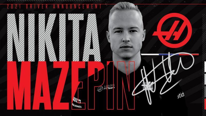 Nikita Mezapin (Rusia), belum balapan sudah bikin heboh. (Foto: haasf1team)