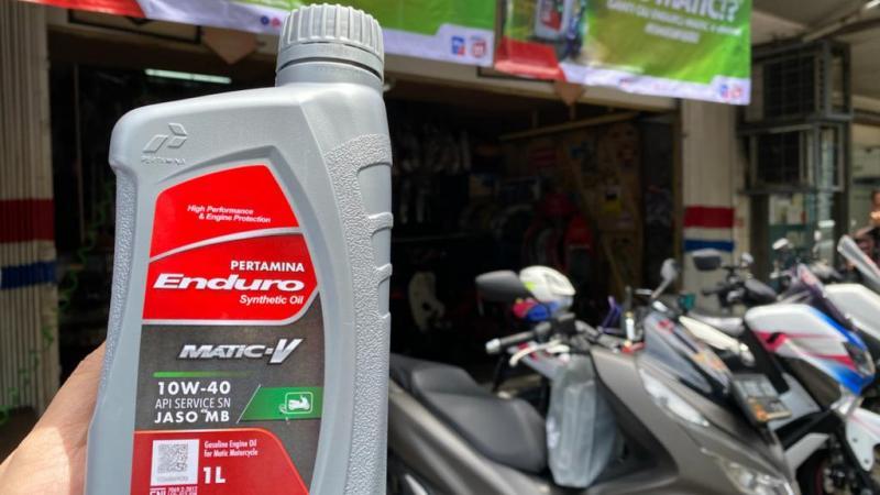Pelumas baru dari Pertamina, Endura Matic V untuk motor Big Matic