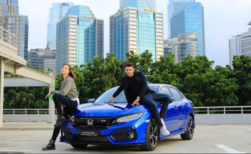 Honda Civic Turbo berhasil meraih penghargaan sebagai model terbaik di kelas Medium Sedan.