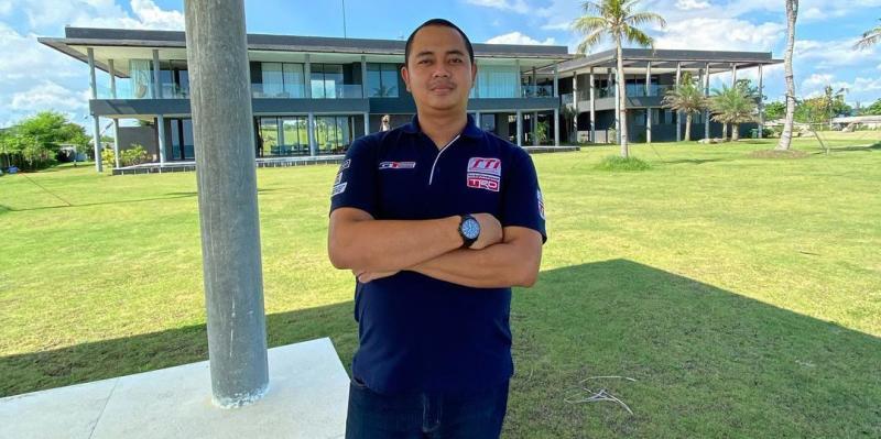 Dimitri Fitra Ditama, manager operasional Toyota Team Indonesia menaruh harapan besar kepada Bamsoet ciptakan harmonisasi balap di Indonesia