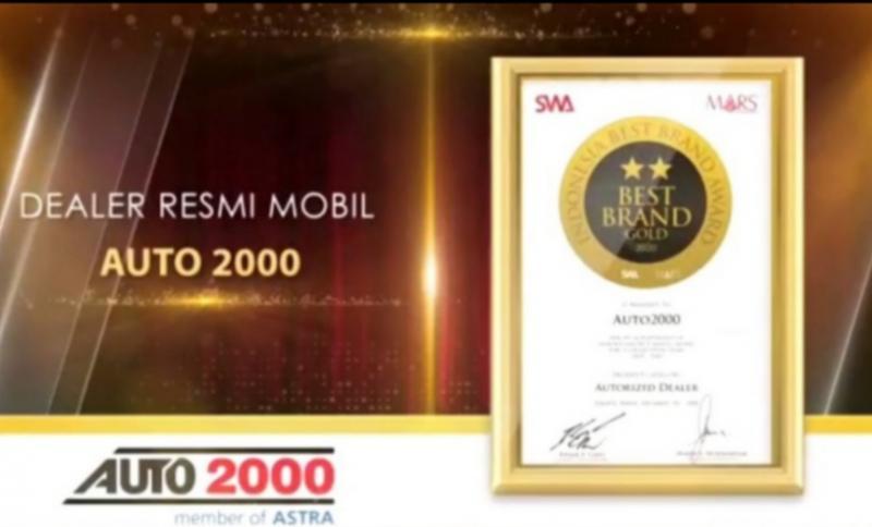 Auto2000 meraih penghargaan Indonesia Best Brand Award 2020