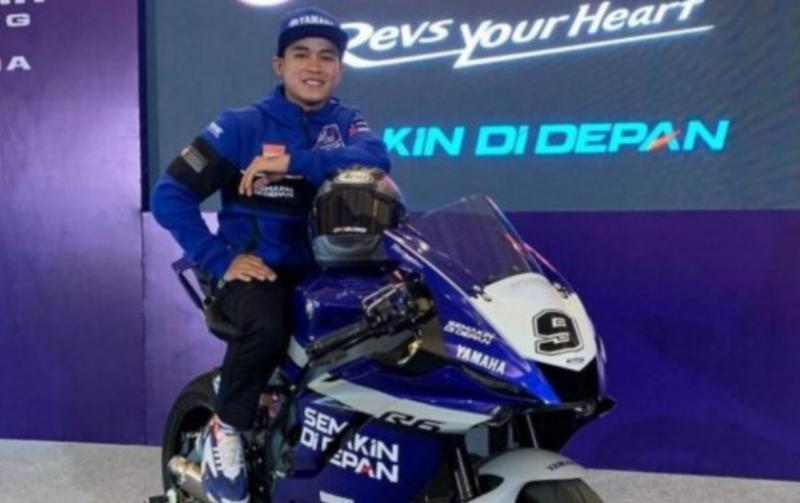 Galang Hendra akan bersama Ten Kate Yamaha di balapan FIM WorldSSP 2021