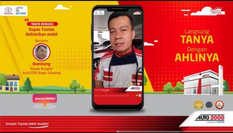 Bambang merupakan Kepala Bengkel Auto2000 Siliwangi Bogor saat menjawab pertanyaan di segmen Tanya Bengkel channel youtube Auto2000ID