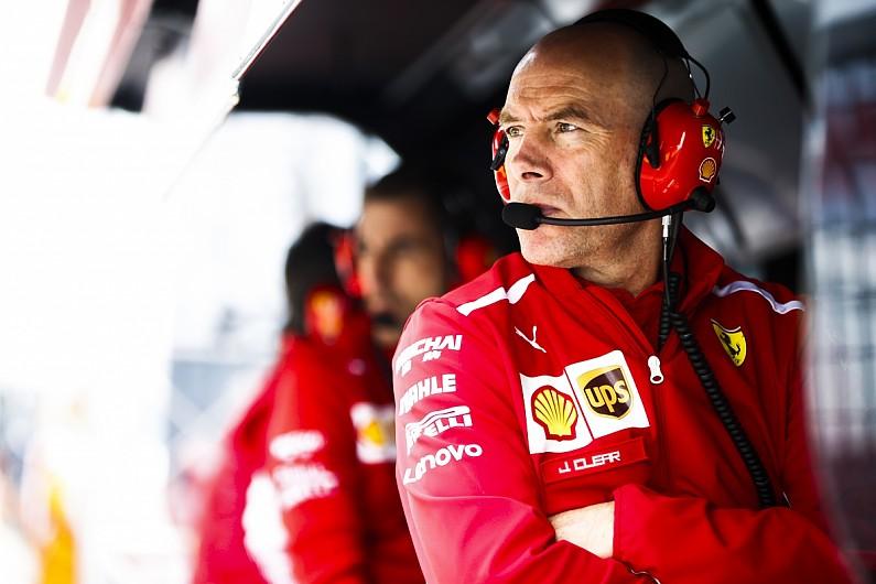 Jock Clear (Inggris), mantan race engineer Michael Schumacher dan Lewis Hamikton yang kini dampingi Mick Schumacher. (Foto: autosport)
