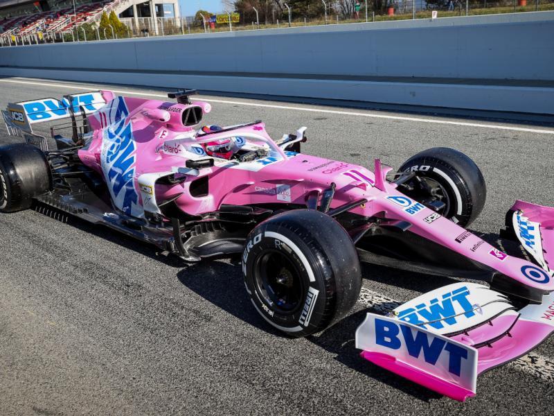 Sergio Perez yang pengalaman besut mesin Mercedes di tim Racing Point. (Foto: planetf1)
