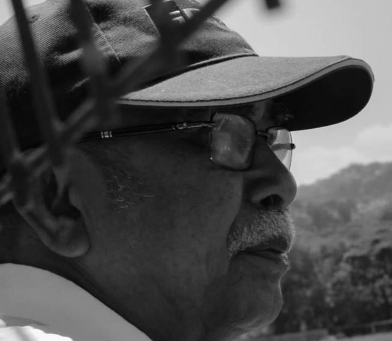 Datu Ram Manoppo, mensupport Haridarma Manoppo 110% di ajang balap. (foto : dok keluarga)