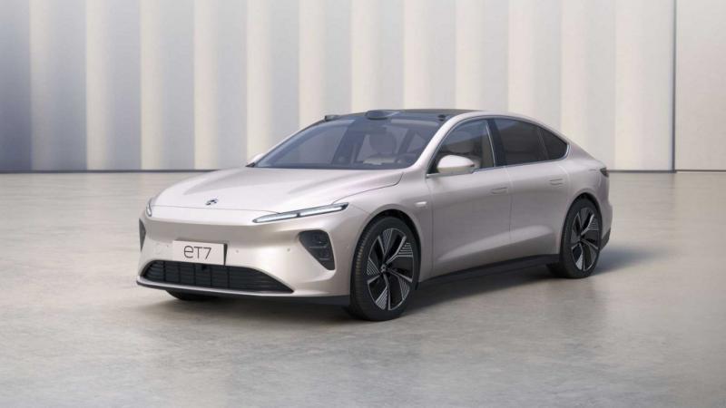 NIO mobil listrik dari Tiongkok yang dianggap pesaing Tesla dari Amerika Serikat