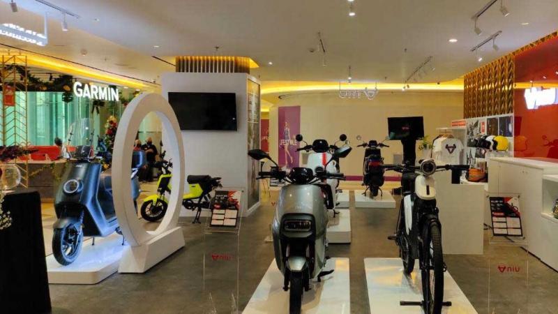 NIU hadirkan Premium Store di Grand Indonesia, motor listrik gunakan baterei yang bisa diandalkan