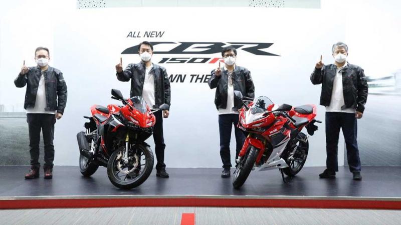 Astra Honda Motor resmi merilis All New Honda CBR150R