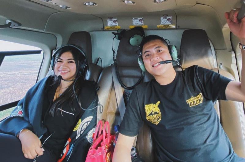 H Putra Rizky bersama sang istri Liana Saputri yang juga seorang offroader kenamaan, ingin ikut memajukan motorsport Indonesia. (foto : instagram)