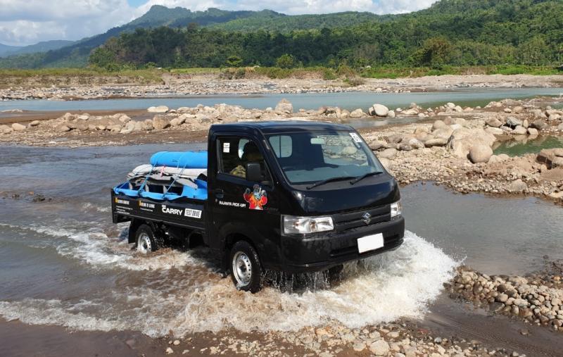 New Carry Pick Up, kendaraan komersial andalan PT SIS