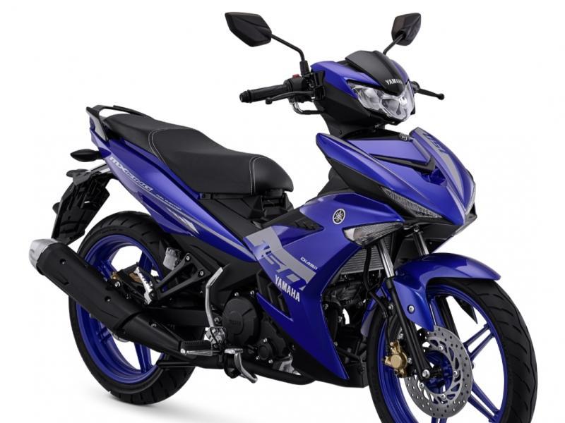 Yamaha MX King 150 dengan warna active blue, satu dari 3 warna unggulan diluncurkan awal 2021