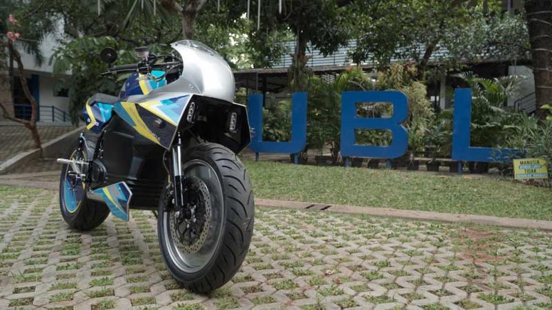 Motor listrik besutan Universitas Budi Luhur Jakarta dengan nama BL SEV01