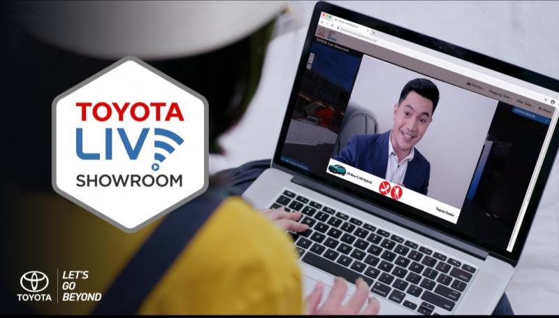 Toyota Live Showroomsalah satuchannelyang digunakan Toyota dapat semakin dekat dengan pelanggan