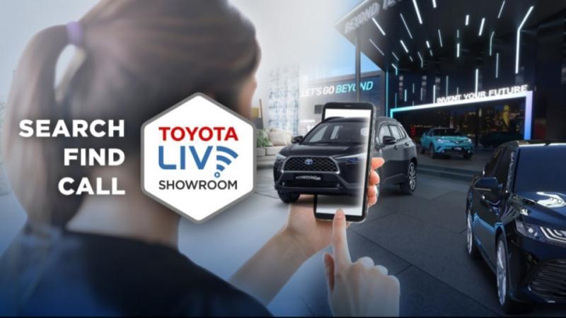 Toyota Live Showroomsalah satudigital channelyang disediakan PT Toyota Astra Motor agar lebih dekat dengan pelanggan.
