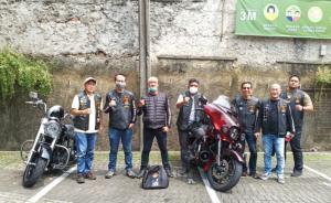 HOG Nusantara Jakarta Chapter langsungkan rapat tahunan di Balai Sarwono, Kemang, Jakarta Selatan hari ini. (foto : wan)