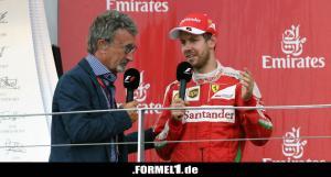 Eddie Jordan dan Sebastian Vettel, lebih setuju Sergio Perez yang ke Aston Martin. (Foto: formel1)
