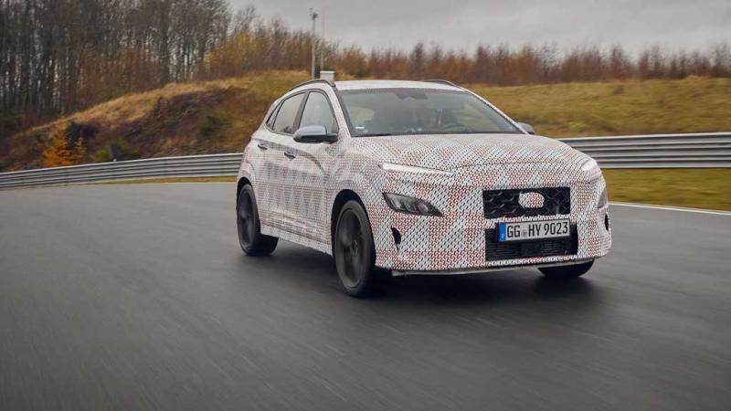Hyundai Kona N versi terbaru segera diluncurkan dalam waktu dekat