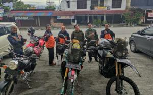 Perjalanan touring dimulai dari Kerinci menuju Titik Nol Kilometer.