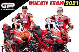 Jack Miller (Australia) dan Francesco Bagnaia (Italia), duet andlan Ducati di grid MotoGP 2021. (Foto: gpone)