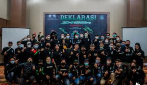 Pencinta Kawasaki ZX25R Indonesia mendeklarasikan berdirinya ZRI dengan dengan slogan Ride With Pride as A Family