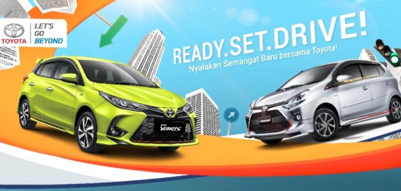 Melalui tema Ready Set Drive, Toyota menawarkan special rate bagi pembelian mobil dengan memberikan total benefit yang lebih besar kepada pelanggan.