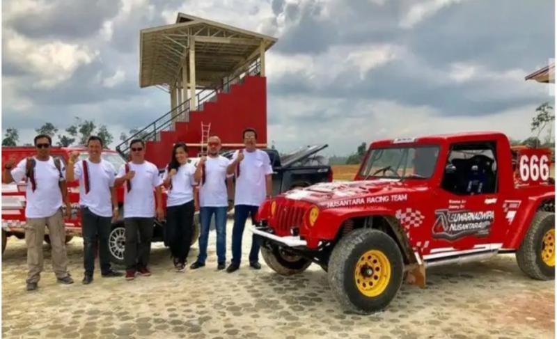 Manajemen Suwarnadwipa Nusantara Circuit Muara Bungo Jambi siap gelar 4 event Kejurnas Sprint Rally dan Rally selama 4 hari beruntun