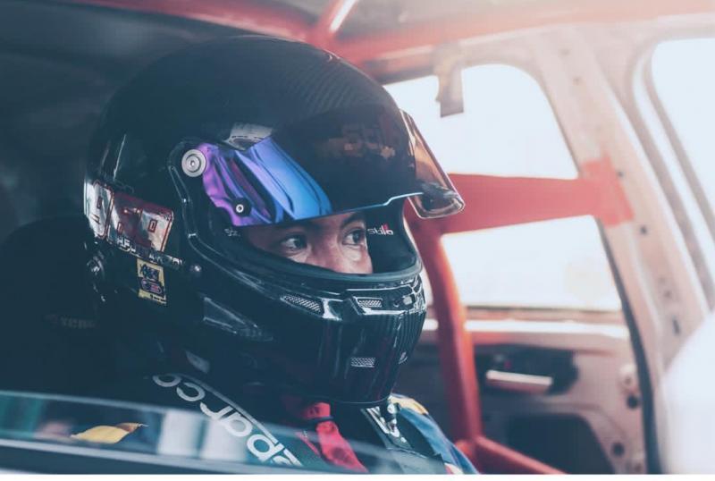 H Putra Rizky, bos H Putra 969 Racing Team saat mengikuti sebuah event rally beberapa waktu lalu. (foto : ig)