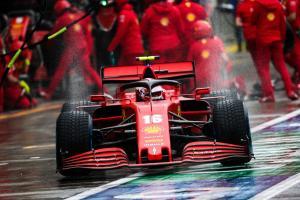 Ferrari  besutan Charles Leclerc, wajib fnish 3 Besar klasemen konstruktor 2021. (Foto: scuderiafans)