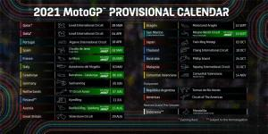 Kalender MotoGP 2021, status MotoGP Mandalika masih tetap sebagai cadangan. (Foto: motogp)