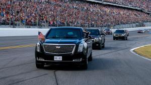 Sebutan The Beast atau 'benteng berjalan' muncul dari sangat amannya sistem keamanan dalam mobil mewah tersebut
