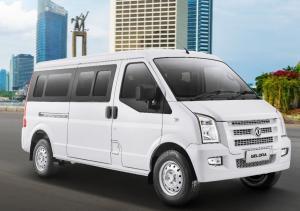 DFSK Gelora minibus siap mengaspal di Indonesi pada awal tahun ini dengan banderol Rp185 juta