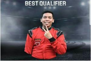 M Irdam, juara nasional drift masih dirawat di RS Hasan Sadikin Bandung setelah mengalami kecelakaan tunggal naik sepeda motor di kawasan Setiabudi Bandung, tadi malam..