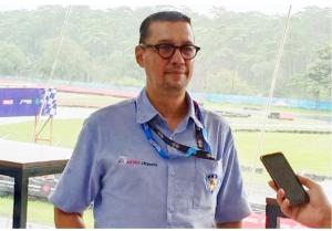Anthony Sarwono, diplot sebagai Ketua Komisi Balap Mobil IMI Pusat. (foto : bs)