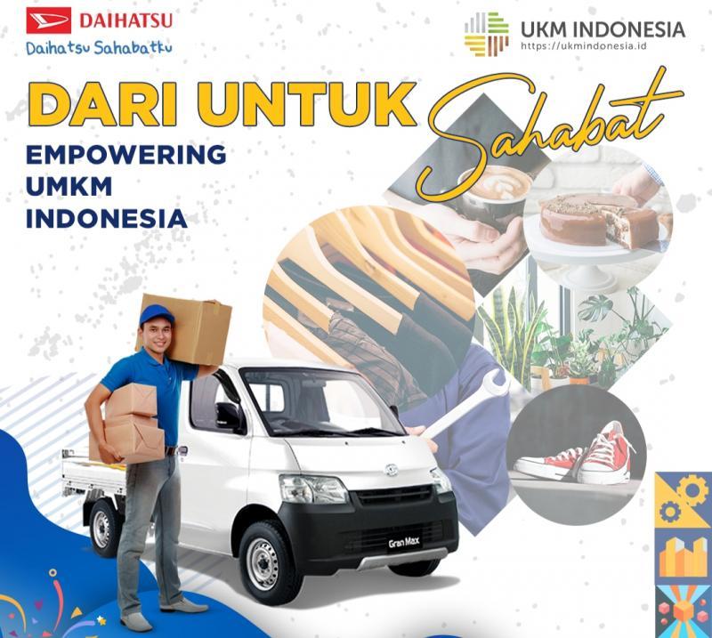 Pada program Dari Untuk Sahabat Daihatsu ini, sahabat UMKM bisa memperkenalkan jasa dan produknya melalui video kreatif yang berkonsep story telling.