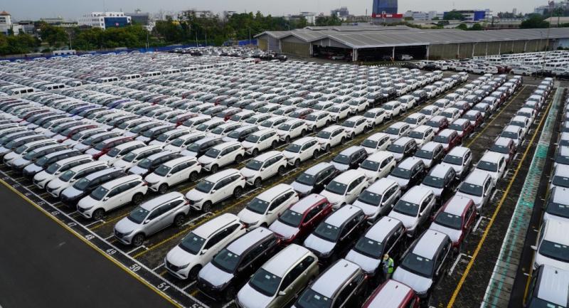 Mobil LCGC produksi PT Astra Daihatsu Motor termasuk yang diekspor telah tembus 1,1 juta unit