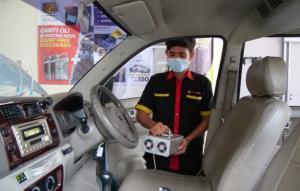 Cegah serangga bersarang dalam mobil, coba lakukan dengan Ozone