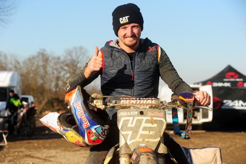 Jack Miller di ajang motocross, tetap dengan #43. (Foto: motogp.com-stefano padovani)