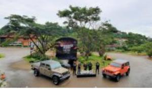 Jeep Gladiator dan Wrangler 2021 diluncurkan PT DAS Indonesia di kawasan Bogor, Jaw Barat hari ini. (foto : hf)