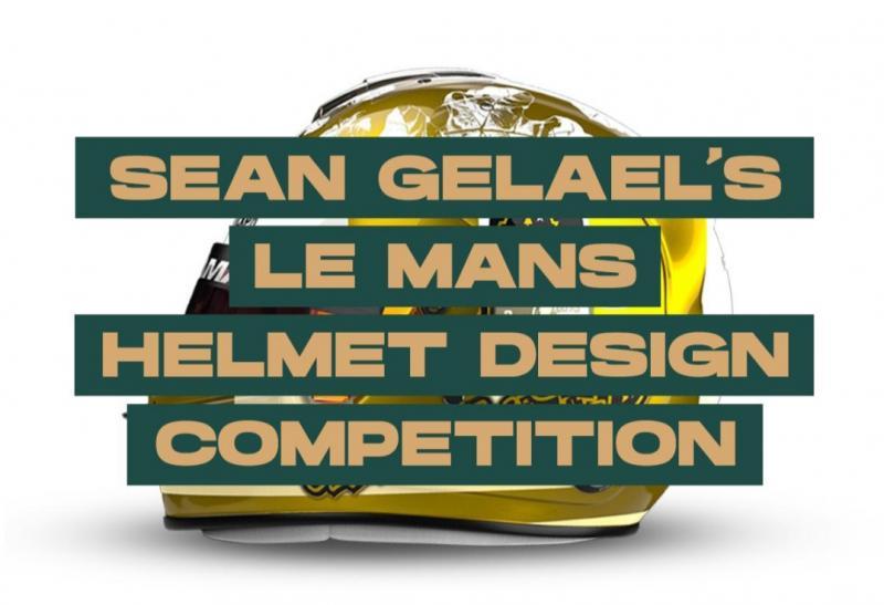Sean Gelael mengajak para desainer berbakat Tanah Air untuk merancang corak helmnya khusus akan digunakan pada ajang Le Mans 24H 2021.