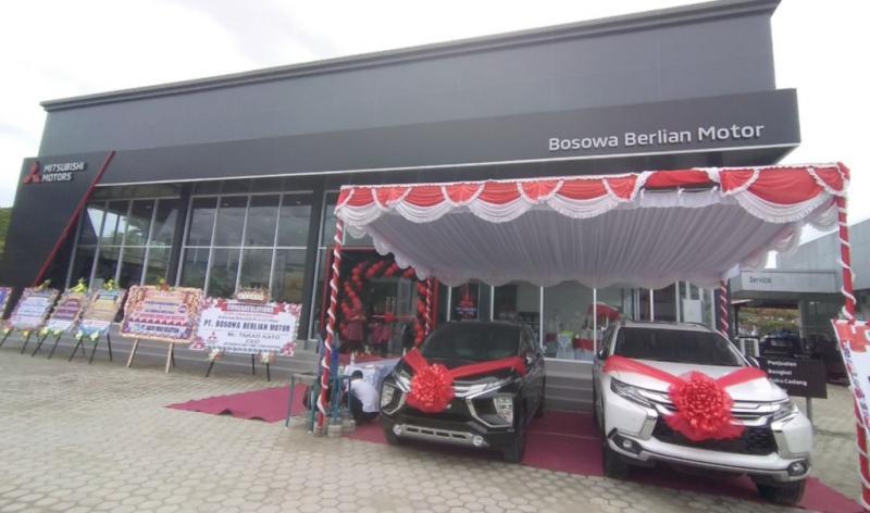 Mitsubishi Bosowa Berlian Motor Jayapura menjadi diler resmi Mitsubishi Motors ke-154 di Indonesia, sekaligus fasilitas ke-18 dari Bosowa Group kerjasama dengan Mitsubishi.