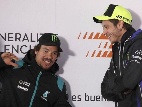 Duet pembalap Petronas Yamaha Srt Valentino Rossi dan Franco Morbidelli, memilih Portimao sebagai pemanasan jelang winter test Qatar. (Foto: ist)